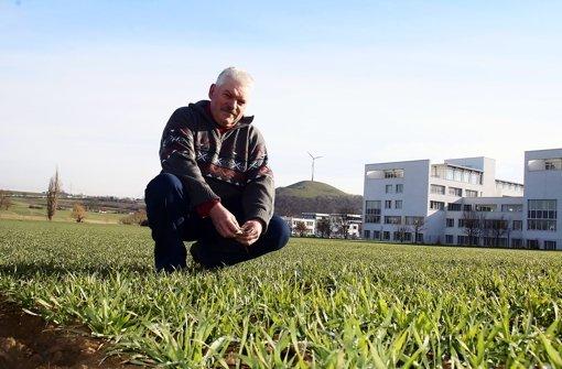 Bauern sehen den langen Winter gelassen