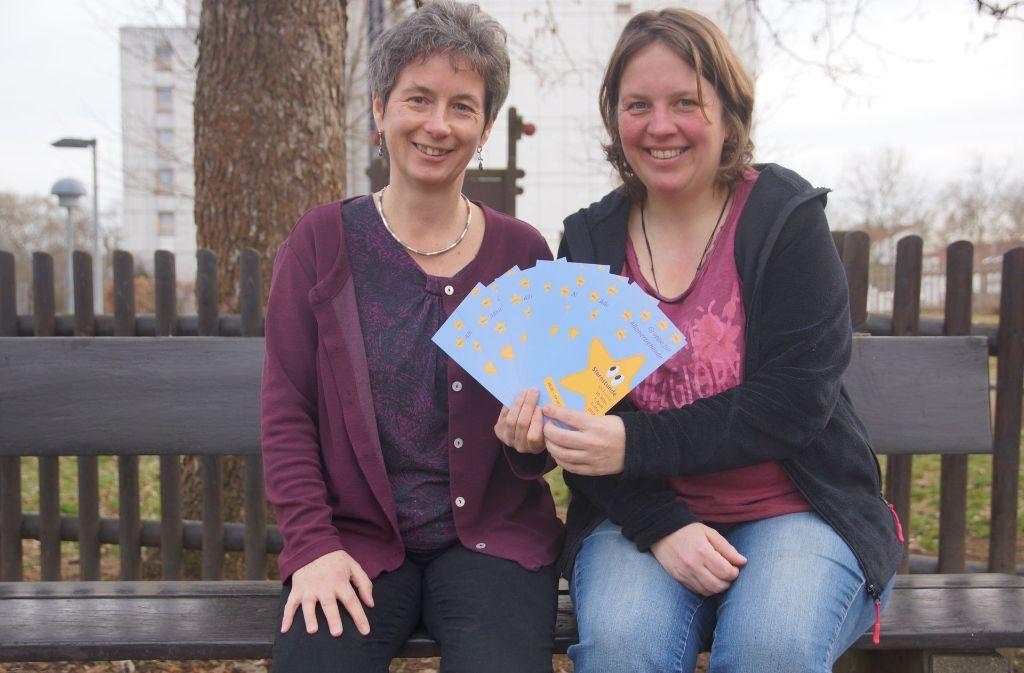 Birgit Hospotzky (links) und Elke van Drunen wollen Alleinerziehenden die Möglichkeit geben, ihre Erfahrungen untereinander auszutauschen. Foto: Waltraud Daniela Engel