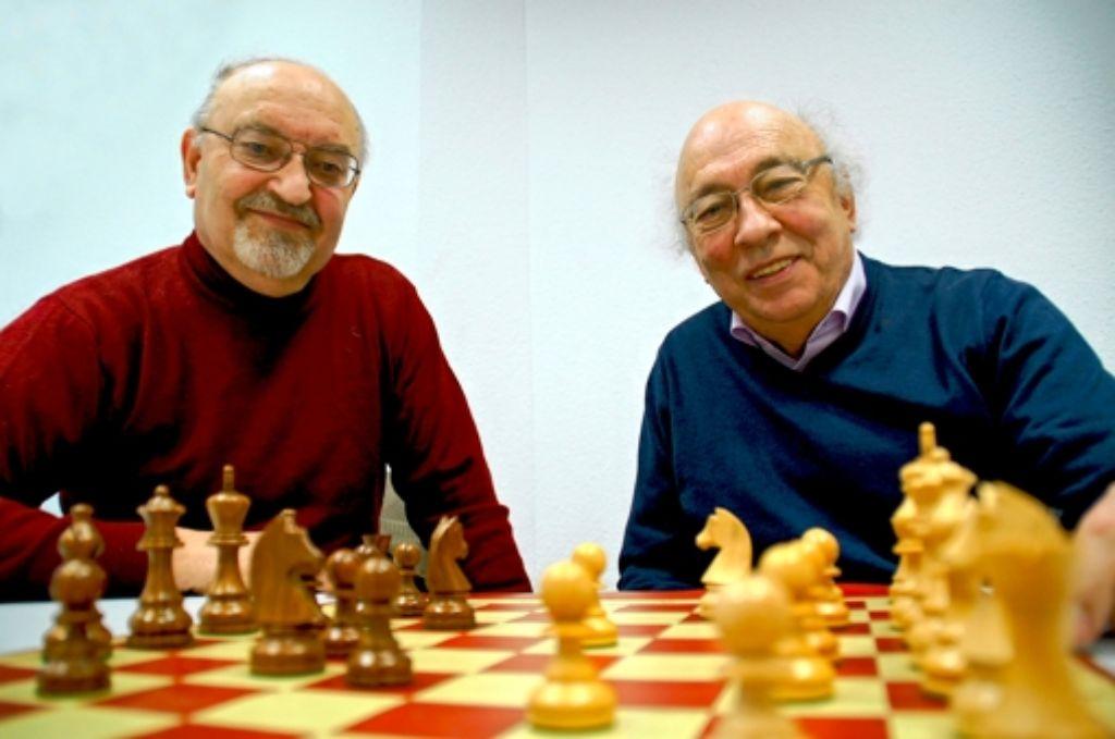 Der Vorsitzende Johannes Häcker (l.) und das Gründungsmitglied Herbert Braun. Foto: Leonie Hemminger