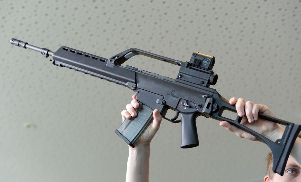 Gewehre von Heckler & Koch sollen illegal nach Mexiko gelangt sein. Foto: dpa