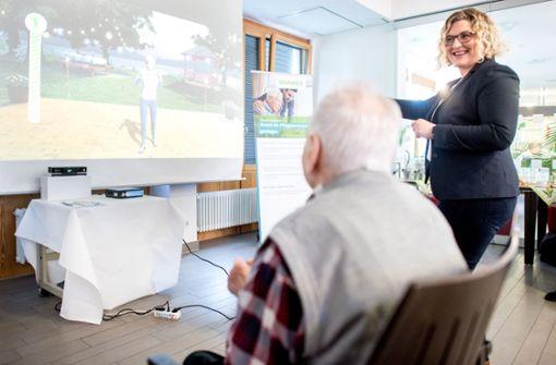 Haben Videospiele im Pflegeheim therapeutischen Effekt?