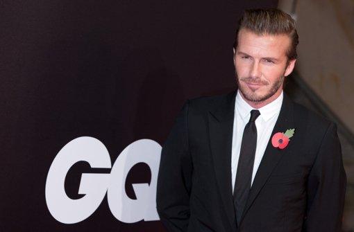 Beckham veräppelt sich selbst