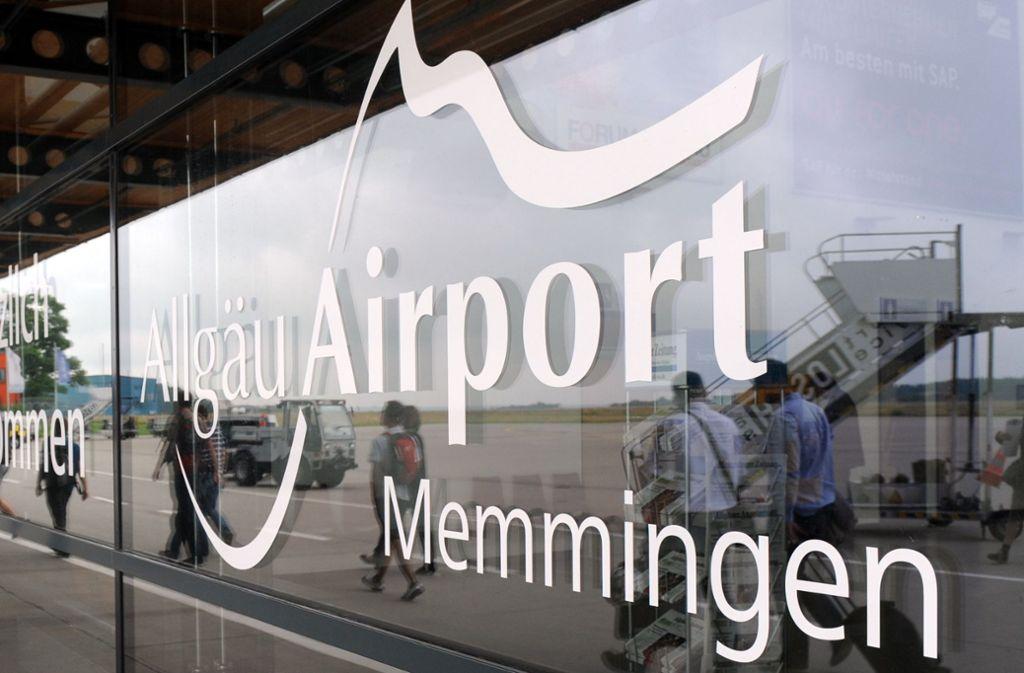 Am Flughafen Memmingen ist eine Maschine vom Rollweg abgekommen. Foto: dpa/Andreas Gebert