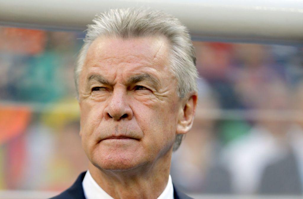 Ottmar Hitzfeld spielte in den 1970ern für den VfB Stuttgart und trainierte später Borussia Dortmund und den FC Bayern München. Foto: picture alliance/dpa/Robert Ghement