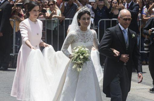 Prinz heiratet peruanisches Model