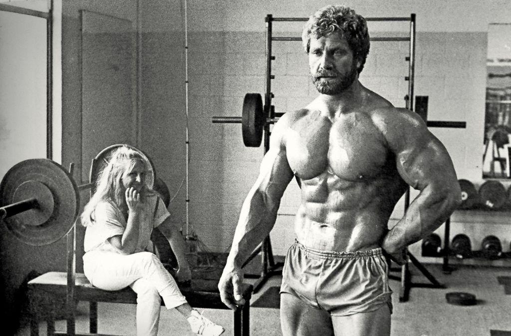 Großartige Jahre: Mister Universum Jusup Wilkosz mit seiner Frau Ruth Foto: factum/Granville