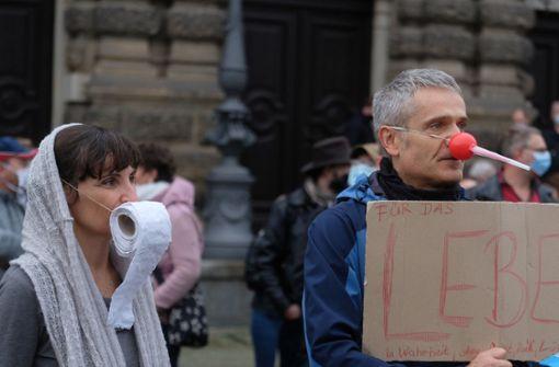 Mehrere Tausend Menschen bei Corona-Protesten in Deutschland