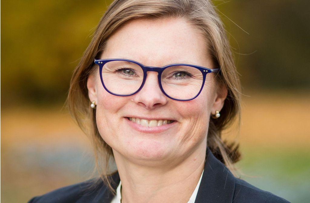 Sie könnte bald Bezirksvorsteherin im Stuttgarter Osten sein: Charlotta Eskilsson. Foto: Lichtgut/Christoph Schmidt