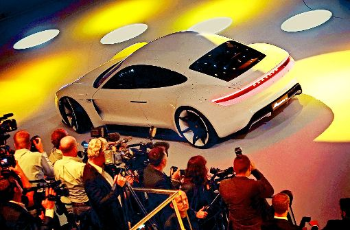 Mission E soll  Porsches  Ikone werden