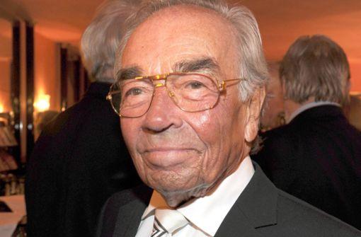 Schauspieler Claus Biederstaedt ist tot