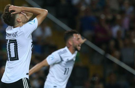 Deutschland auf der Konsole gegen Norwegen chancenlos