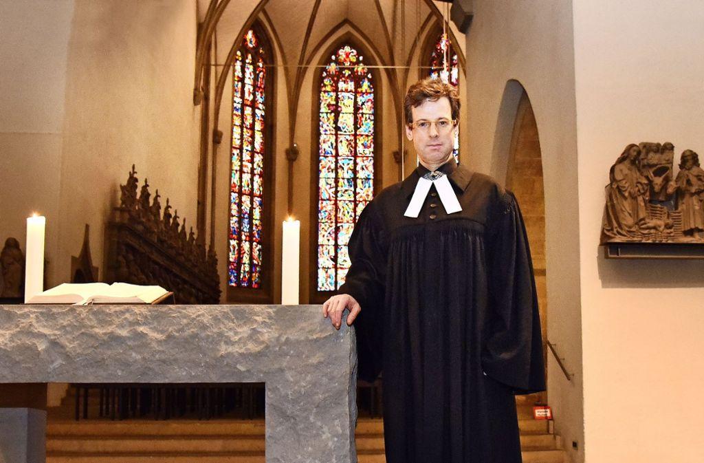 Populär: Stuttgarts Stiftskirchenpfarrer Matthias Vosseler hat bei der  Synodalwahl besonders gut abgeschnitten. Foto: Guenter E. Bergmann/Photography