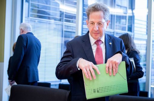 Verfassungsschutz-Präsident übt heftige Kritik an Medien