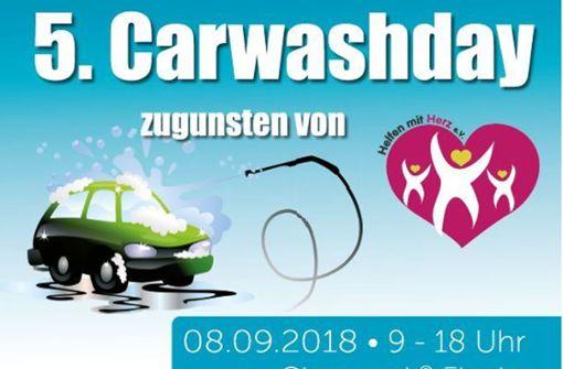 Autowaschen für den guten Zweck