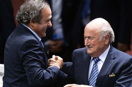FIFA reicht Klage gegen Blatter und Platini ein