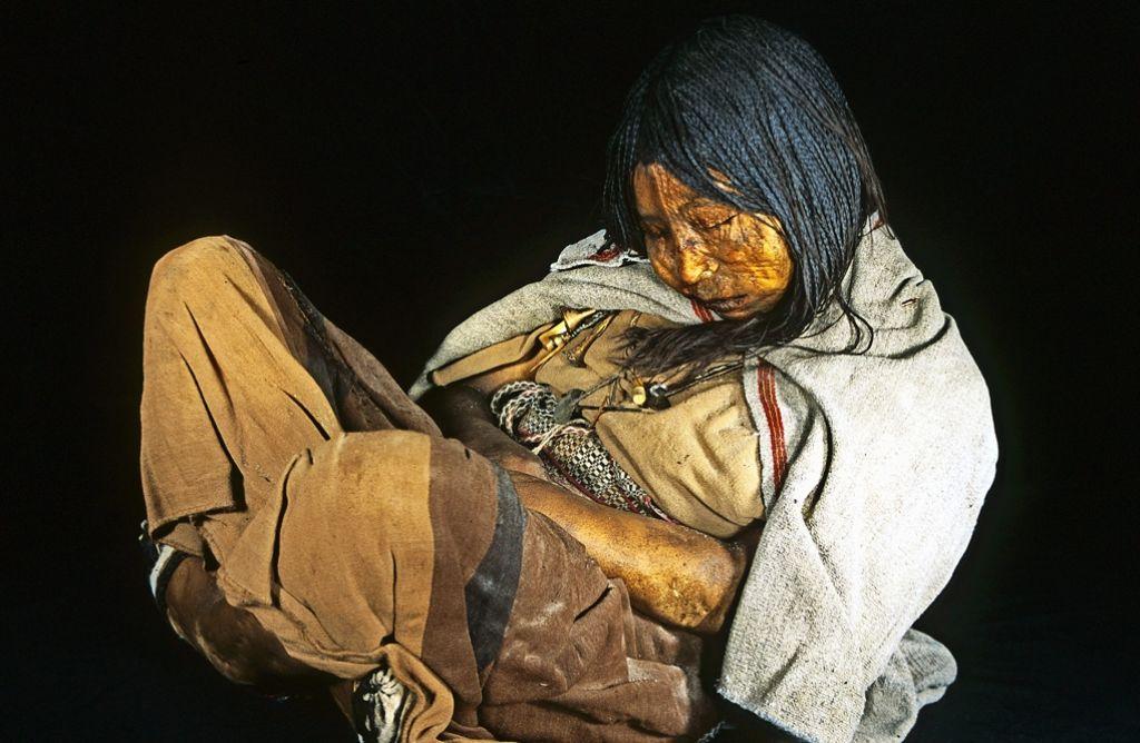 Aus der Mumie dieser Argentinierin isolierten Forscher Erbgutmaterial. Foto: Reinhard