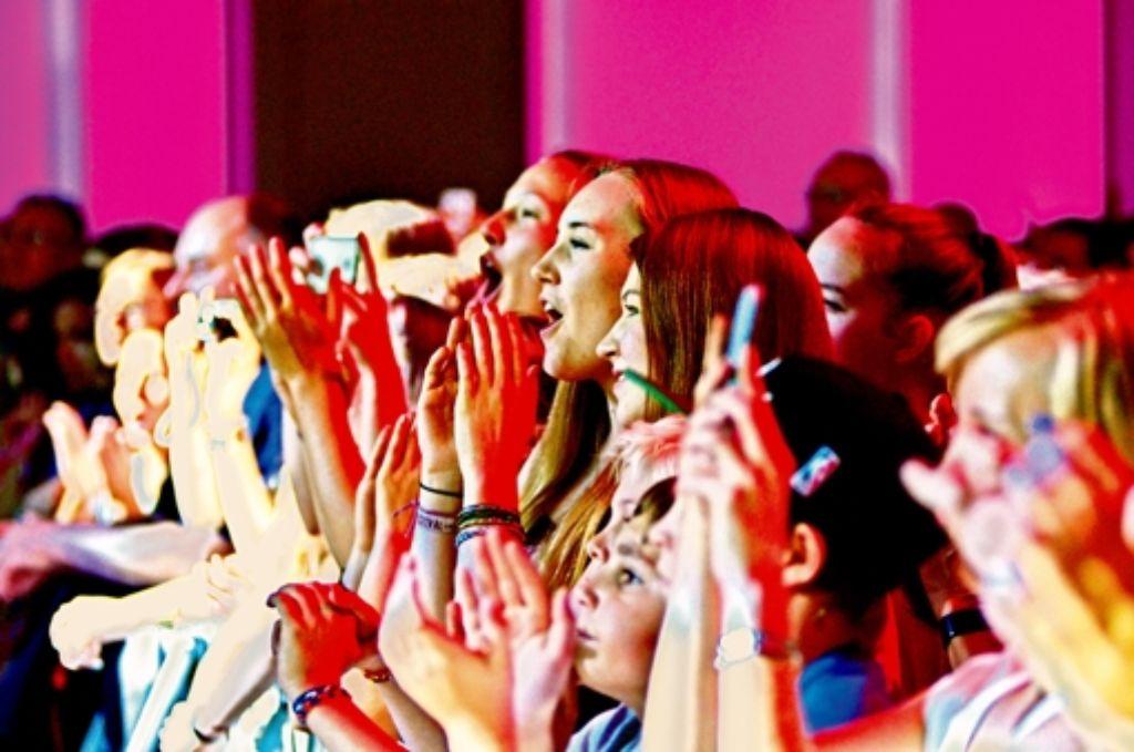 Das ist die Zielgruppe des neuen Senders: Fans beim New Pop Festival des SWR  Anfang  September in Baden-Baden. Foto: SWR