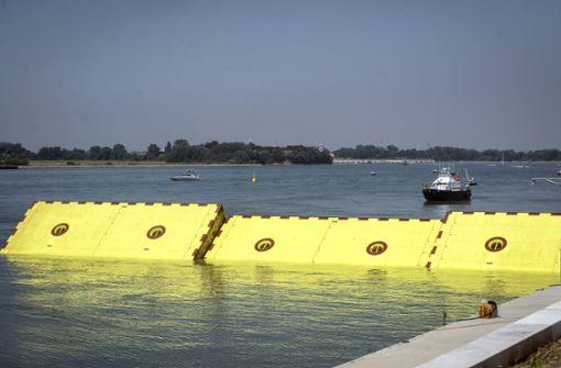 """""""Mose"""" soll Venedig vor den Fluten bewahren"""