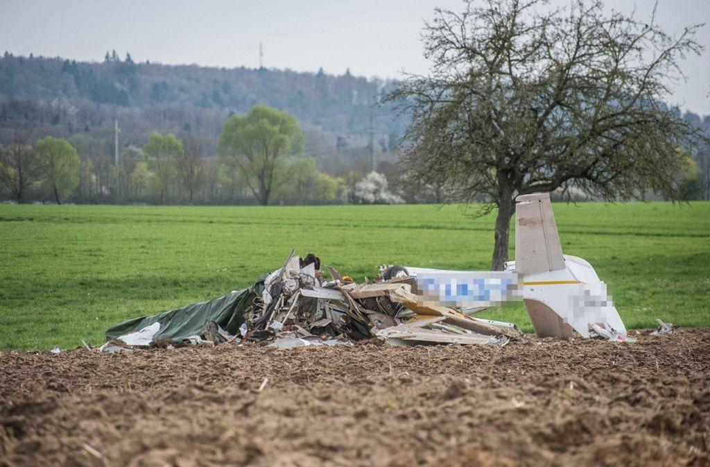 Eine der Maschinen, die bei Schwäbisch Hall abgestürzt sind. Foto: SDMG