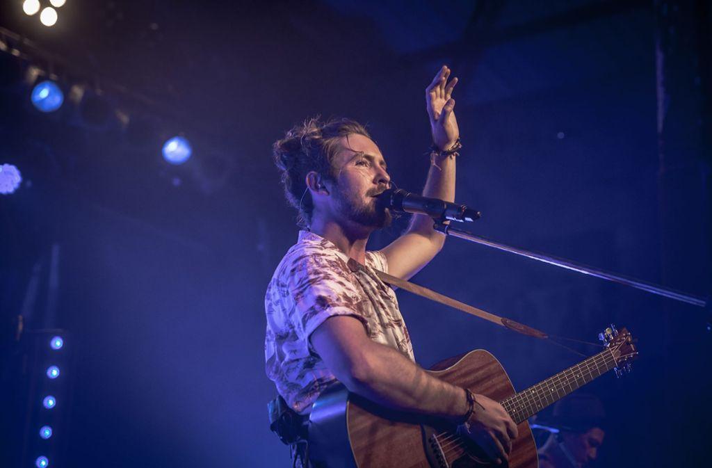 Jeremy Loops bei seinem Auftritt im LKA Foto: Lichtgut/Julian Rettig