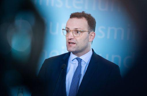 Gesundheitsminister Spahn sieht eine Epidemie kommen