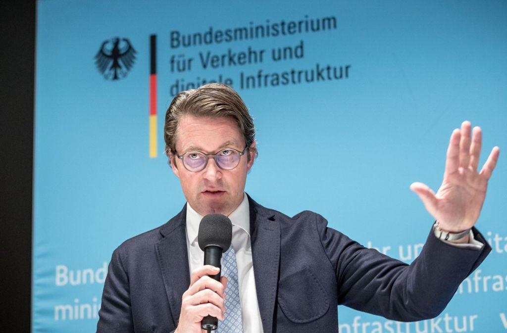 Bundesverkehrsminister Andreas Scheuer sieht seine Verhandlungen mit der Autoindustrie als Erfolg. Foto: dpa