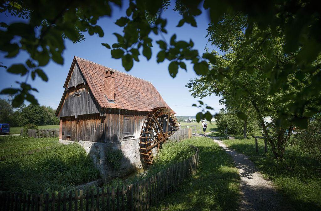 Der Mühlentag wird bei der Ölmühle in Rudersberg-Michelau eröffnet. Foto: Gottfried Stoppel