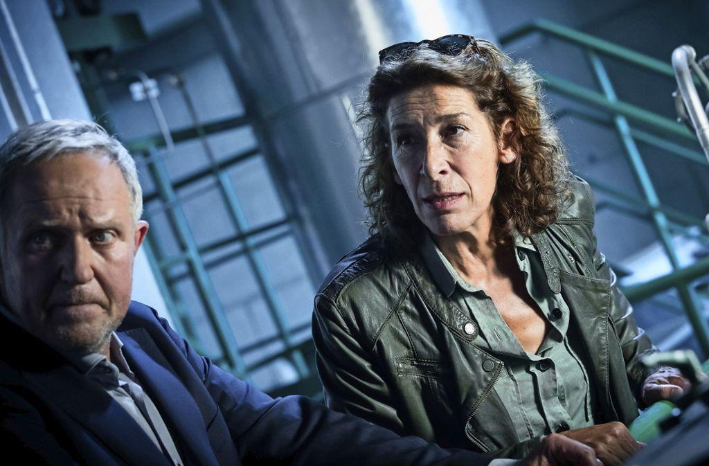 Eisner (Harald Krassnitzer) und Fellner (Adele Neuhauser) ermitteln Foto: ORF