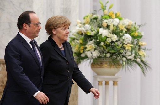 Staatschefs verhandeln um Frieden