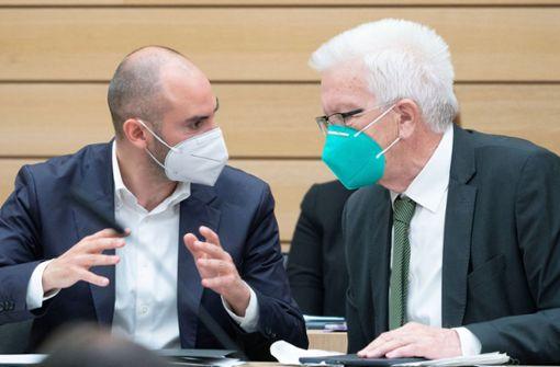 Grün-Schwarz will 1200 neue Stellen schaffen und Schulden tilgen