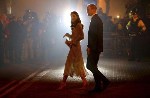 Prinz William bricht mit dem Protokoll