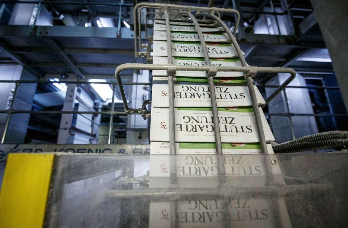 Die Zahlungsbereitschaft der Mediennutzer mag nachlassen, das Vertrauen in Printprodukte ist aber nach wie vor hoch. Foto: Lichtgut/Julian Rettig