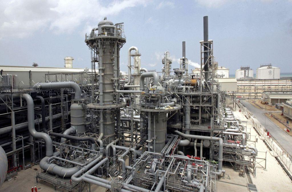 Katar will den Export von Erdgas erhöhen. Foto: AP