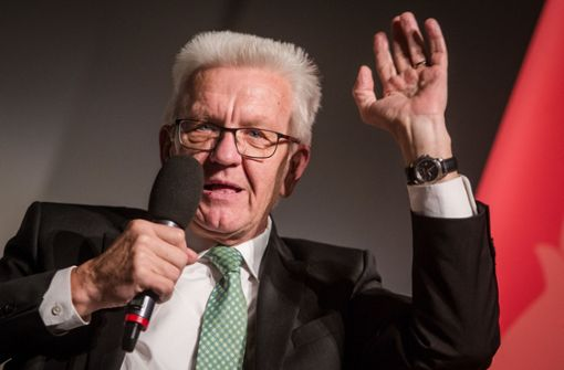 Kretschmann will staatstragender reden