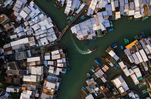 Spektakuläre Aufnahmen zeigen Hongkong von oben