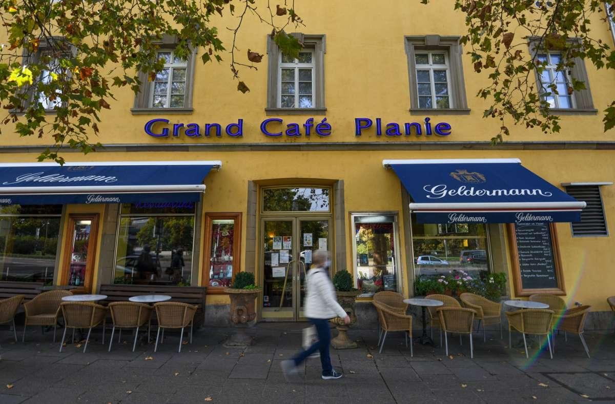 Die Anwälte des  Grand Café´Planie  sind mit ihrem Eilantrag vor dem Verwaltungsgericht Stuttgart gescheitert. Foto: Lichtgut/Leif Piechowski