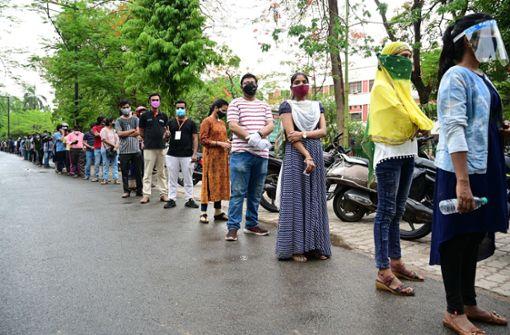 """WHO  stuft indische Mutante als """"besorgniserregend"""" ein"""