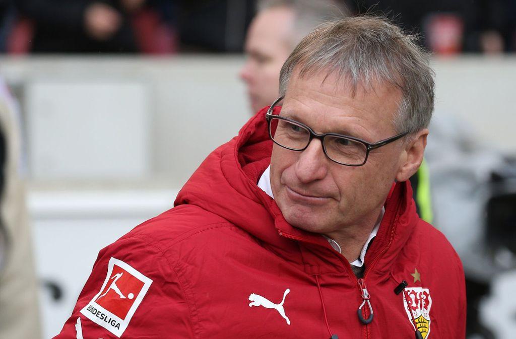 Seit August vergangenen Jahres Sportchef beim VfB: Der bei den Fans umstrittene Michael Reschke Foto: Baumann