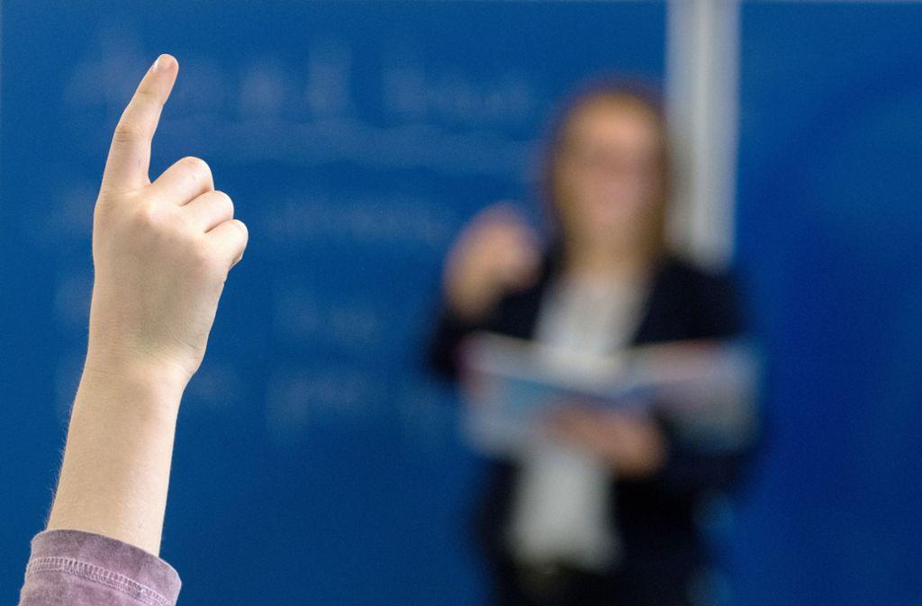 Rund 3000 Lehrer an Gymnasien in Baden-Württemberg wurden bei der Studie befragt. Foto: picture alliance/dpa/Armin Weigel