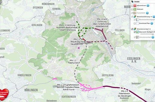 Stadt startet Infosystem zu Stuttgart 21