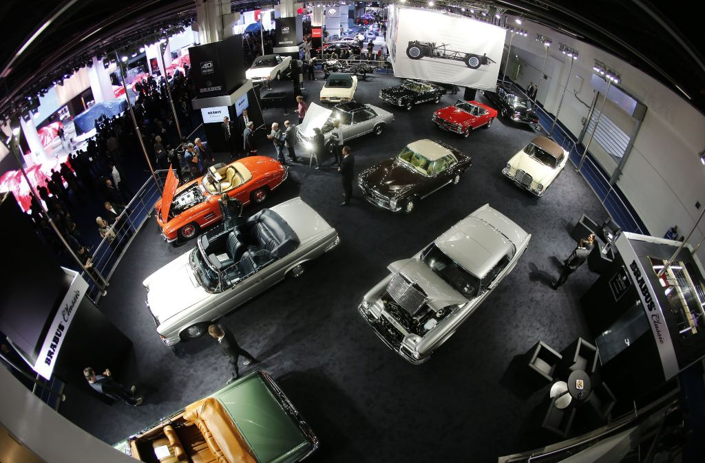 Autoklassiker – zu sehen auf der IAA in Frankfurt Foto: AP