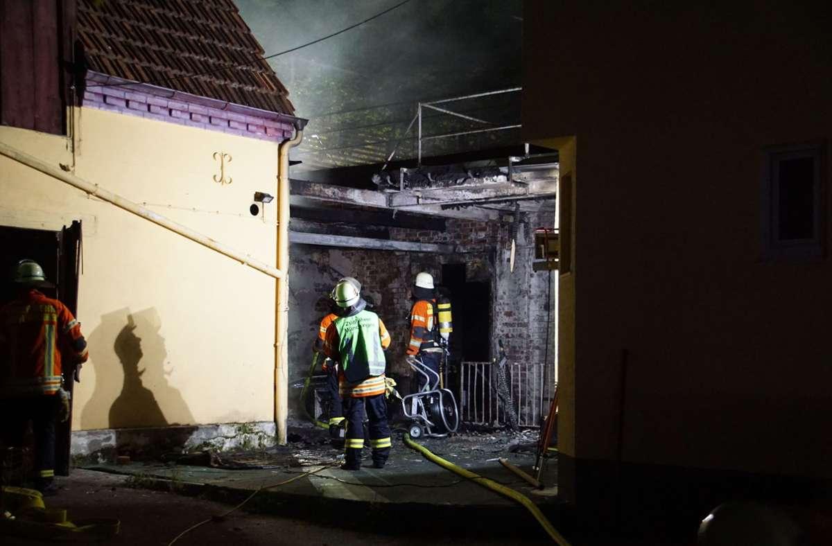 Die Feuerwehr konnte Schlimmeres verhindern. Foto: SDMG/SDMG / Hemmann
