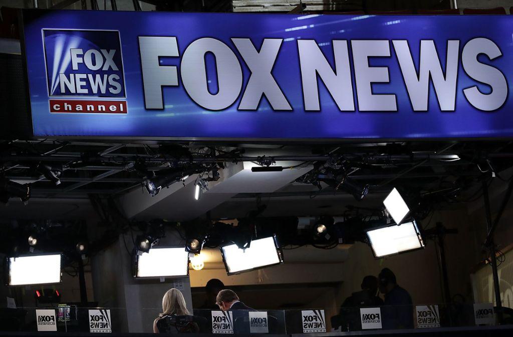 Bisher war Fox News für Trump eine sichere Bank. Foto: AFP