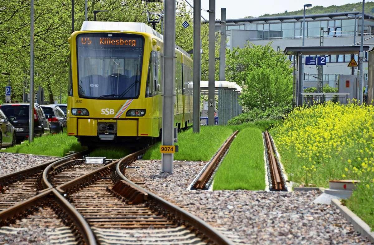 Bisher fährt die U5 nur bis Leinfelden. Foto: Archiv Norbert J. Leven
