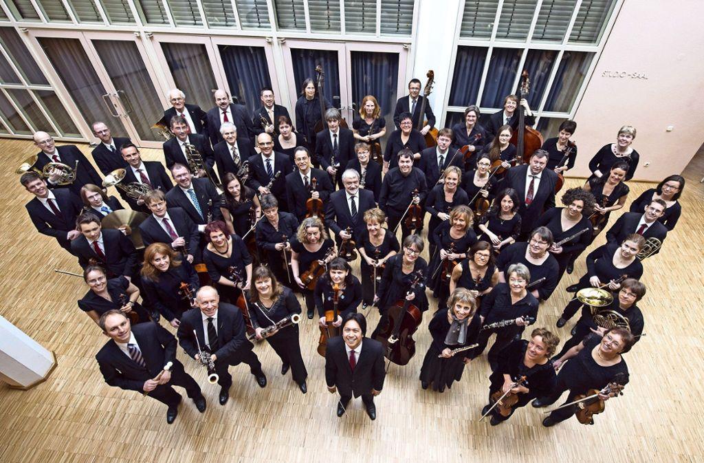 Das Leonberger Sinfonieorchester spielt unter der Leitung von Alexander G. Adiarte. Foto: Veranstalter