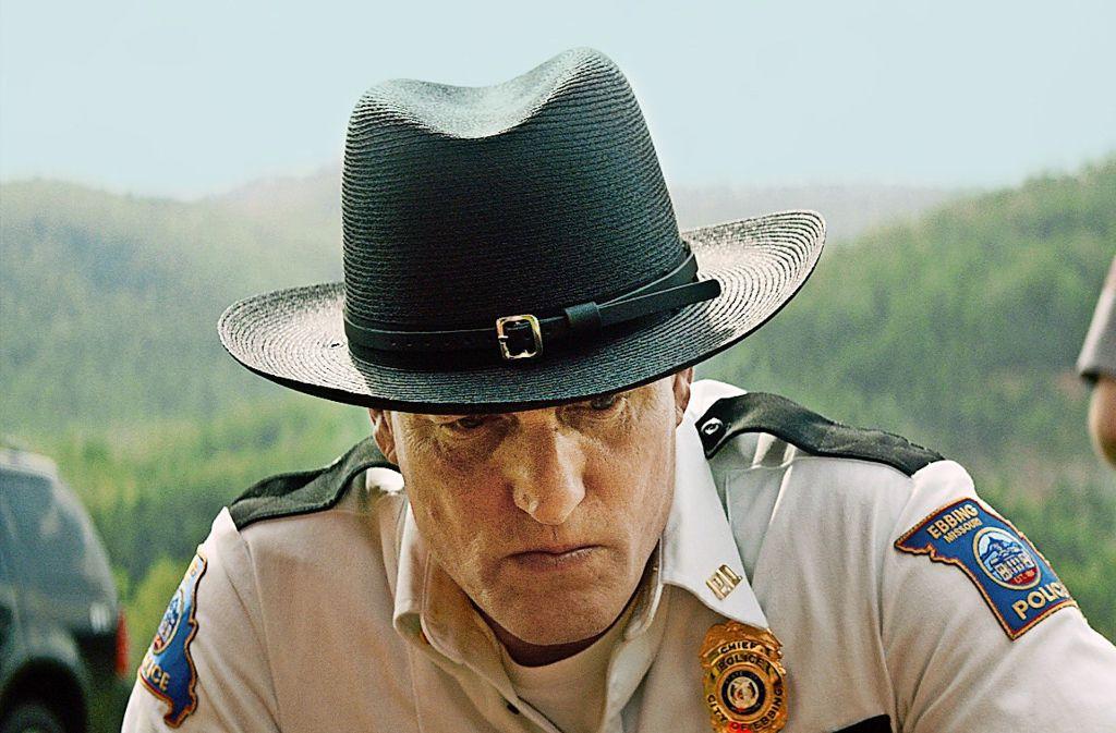"""Woody Harrelson in """"Three Billboards In Ebbing, Missouri"""" Foto: Festival"""