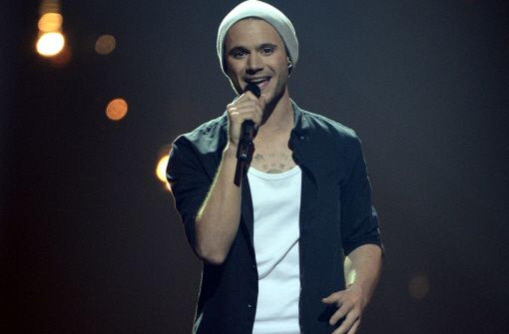 Platz acht beim Eurovision Song Contest - das ist ein Erfolg für Roman Lob aus Neustadt (Wied) in Rheinland-Pfalz. Foto: dapd