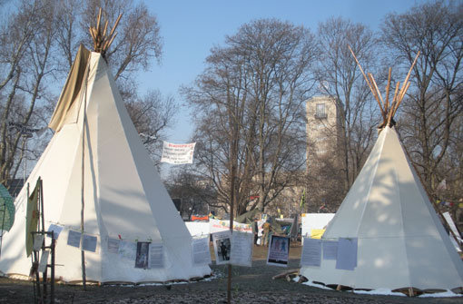 FDP ist für den Abbau des S21-Zeltlagers
