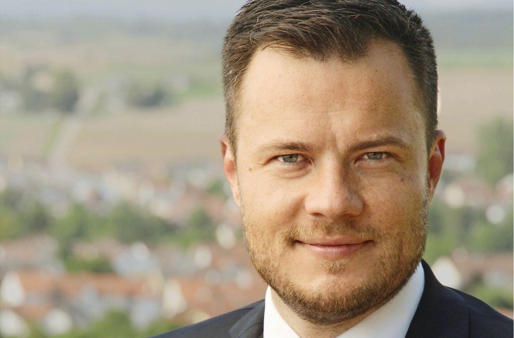 Thomas Winterhalter möchte Bürgermeister von Steinheim werden. Foto: privat