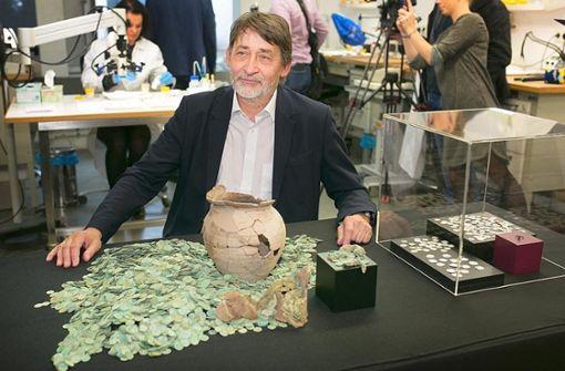 Über 9000 Silbermünzen - großer Mittelalterschatz vorgestellt